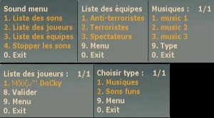 sound menu ScreenShot