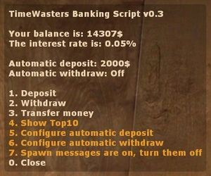 Banking Screenshot