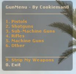 Cookie's Gunmenu ScreenShot