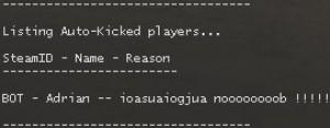 Auto-Kick (with Reason) Screenshot