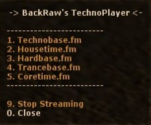 BackRaw's TechnoPlayer (BTP) ScreenShot