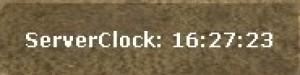 BackRaw's ServerClock ScreenShot