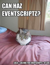 LOLCODE for EventScripts Screenshot