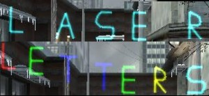 Laser Letters ScreenShot
