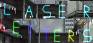 Laser Letters ScreenShot