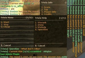 Trivia Screenshot