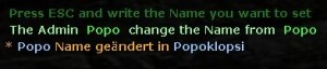 Simple Ingame Namechanger by Popoklopsi Screenshot