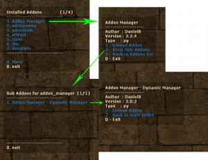 Addon Manager ScreenShot
