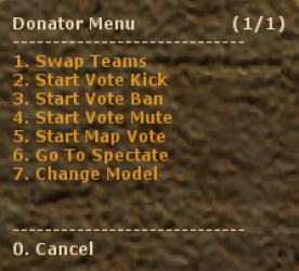 Donator Screenshot
