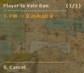 Vote Ban 2 Screenshot