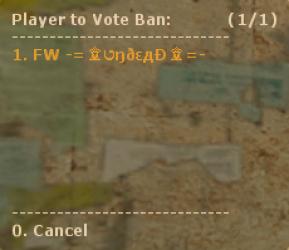 Vote Ban 2 ScreenShot
