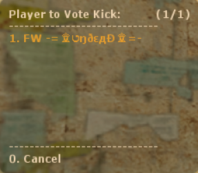 Vote Kick Screenshot