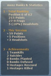 c-Stats (Free Ranking System) Screenshot