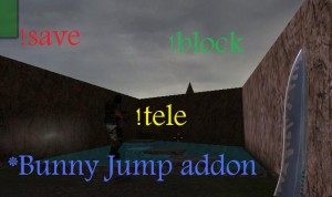 Bunny jump addon Screenshot