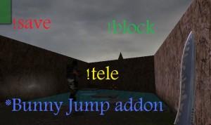 Bunny jump addon ScreenShot