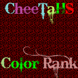 CheeTaHs Color Rank Screenshot