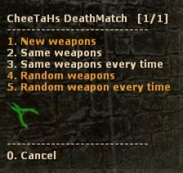 CheeTaHs DeathMatch Screenshot