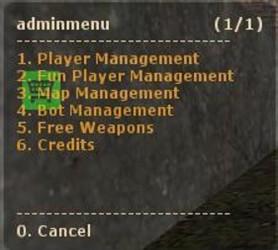 Hansi's Admin Mod ScreenShot