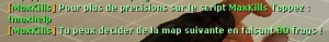 MaxKills - Le meilleur pourra changer la map ! Screenshot