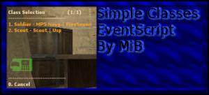 Simple Classes by MiB ScreenShot