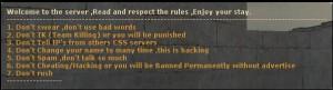 Read Rules Popup Screenshot
