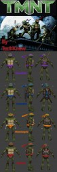 TMNT Races (All the turtles) Screenshot