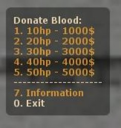 Donate Blood Screenshot