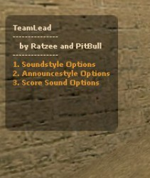 TeamLead /Quake Sounds/ [v2.1] Screenshot