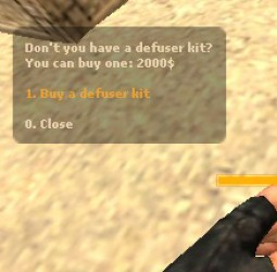Defuser Buy Menu Screenshot