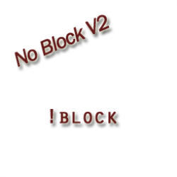 NoBlock v2.1  [MAJ : 6/16/10] Screenshot