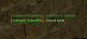 Server adverts by Gabeee Screenshot