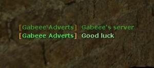 Server adverts by Gabeee ScreenShot