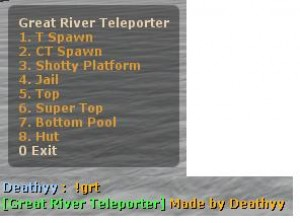 Great River Teleporter (GRT) ScreenShot