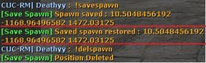 Save Spawn Screenshot
