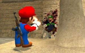 Mario VS Luigi ScreenShot