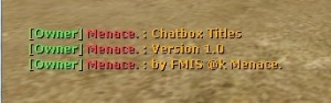 Chatbox Titles Screenshot