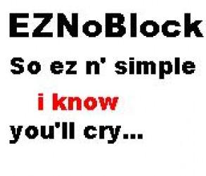 EZNoBlock ScreenShot