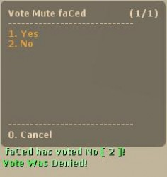 .VoteMute. Screenshot
