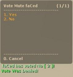 .VoteMute. ScreenShot