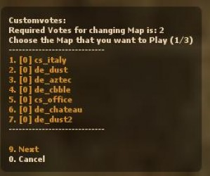 Custom Votes v2.0.2[16/07/2011] ScreenShot