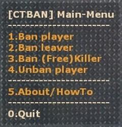 CTBAN - ESS(Old) Screenshot