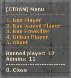 CTBAN - Python Screenshot