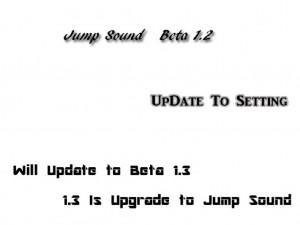Jump Sound Beta 1.2 Screenshot