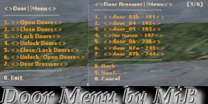 Door Menu by MiB Screenshot