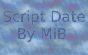 Script Date by MiB ScreenShot