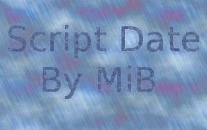 Script Date by MiB ScreenShot