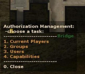 AuthManage Screenshot