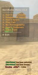 ServRules [ESR] ScreenShot
