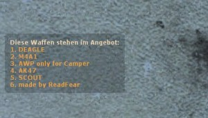 ReadFearWeaponMenu German ScreenShot