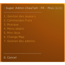 SAC: Super Admin CheeTaH - French Version ScreenShot